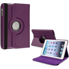 Apple iPad Pro 12.9 (2020), mappa tok, elforgatható (360°), lila tablet tok