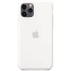 Apple iPhone 11 Pro szilikon tok fehér