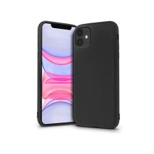 Apple iPhone 11 szilikon hátlap - Soft Premium - fekete tok és táska