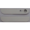 Apple iPhone 5 alsó-felső takaró fehér*
