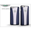 Apple iPhone 6/6S valódi bőr hátlap - Aston Martin Racing Strap - blue/white