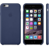 Apple iPhone 6 Leather Case Midnight Blue