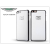Apple iPhone 6 Plus/6S Plus valódi bőr hátlap - Aston Martin Racing - white