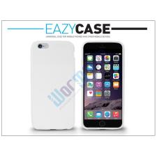 Apple iPhone 6 szilikon hátlap - fehér tok és táska