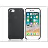 Apple iPhone 7/iPhone 8 eredeti gyári szilikon hátlap - MQGK2ZM/A - black