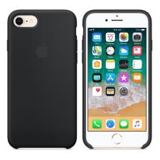 Apple iPhone 8/7 gyári szilikon hátlap tok, fekete, MQGK2ZM/A tok és táska