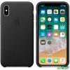 Apple iPhone X bőrtok fekete /MQTD2ZM/A/