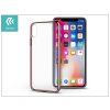 Apple iPhone X hátlap - Devia Glimmer - rose gold/transparent