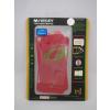 Apple Mercury Apple iPhone 4G/4S elő- és hátlapi kijelzővédő fólia piros