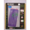 Apple Mercury Apple iPhone 5G/5S/5SE elő- és hátlapi kijelzővédő fólia lila