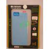Apple Mercury Apple iPhone 5G/5S/5SE elő- és hátlapi kijelzővédő fólia világoskék