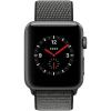 Apple Watch 3 GPS + Cellular 38mm Space Grey Alu Case Olive Sp.Loop  MQKK2ZD/A