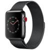 Apple Watch 3 GPS + Cellular 42mm Space Black Steel Case Black Loop  MR1V2ZD/A
