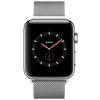 Apple Watch 3 GPS + Cellular 42mm Steel Case Milanese Loop  MR1U2ZD/A