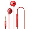 AppleKing BASEUS Encok fülhallgató jack konektorral - piros