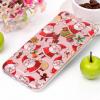 AppleKing Fedél iPhone 6 Plus és 6S Plus készülékekhez - Télapóval