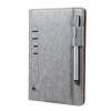 AppleKing Luxus borító műbőrből Apple iPad Mini 4 - szürke