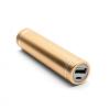 AppleKing Mini külső akkumulátor / power bank 2600mAh - ajakrúzs méret - arany