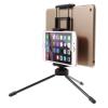AppleKing Multifunkciós állvány/tripod kettő készülékre smartphone / tablet - fekete