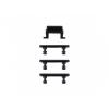 AppleKing Pót oldalsó nyomógombok Apple iPhone 7 Plus készülékhez (Hangerősség + Bekapcsolás / kikapcsolás + Tompítás) - fekete