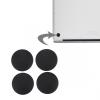 AppleKing Pótalkatrész - alsó gumis lábak Apple Macbook Pro (A1278, A1286, A1297) - 4db - fekete