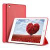 """AppleKing Smart Cover borító / tok alvás funkcióval és állvánnyal szilikon hátoldallal Apple iPad 10.5"""" - piros"""