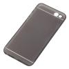 AppleKing Vékony műanyag tok - iPhone 6 Plus / 6S Plus lencse védelmével - fekete
