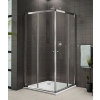 Aquatek Family A4 90x190 zuhanykabin, króm