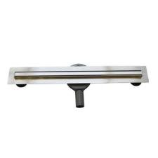 Arezzo 800 mm-es keskeny rozsdamentes acél folyóka AR-800K fürdőszoba kiegészítő