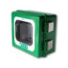 Arky- Hollandia Arky kültéri hang riasztásos defibrillátor szekrény (Kültéri 100% por- és vízálló defibrillátor tároló)