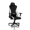 Arozzi Nitro Concepts S300 Radiant White - Fekete/Fehér Gamer szék
