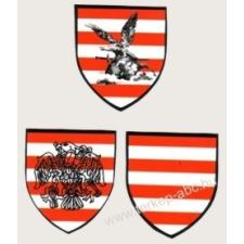 Árpádsávos pajzs, turul árpádsávos pajzs, rakamazi árpádsávos pajzs hütőmágnes (4,5*5 cm) hűtőmágnes