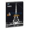 Ars Una Cities-Paris by night gumis dosszié A/4