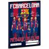 Ars Una FC Barcelona első osztályos vonalas füzet A/5