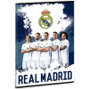Ars Una Real Madrid játékosok vonalas füzet kék A/4