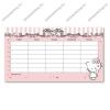 Arsuna Hello Kitty kétoldalas órarend - Arsuna