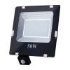 Art External lamp LED 50W;SMD;IP65; AC80-265V;black; 4000K-W; sensor