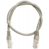 Art PATCHCORD UTP 5e 0.5m grey oem