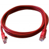 Art PATCHCORD UTP 5e 1m red oem