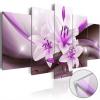 Artgeist Akrilüveg kép - Violet Desert Lily [Glass]