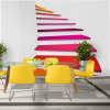 Artgeist Fotótapéta - Colorful stairs