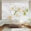 Artgeist Fotótapéta - Lyrical orchid - White