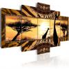 Artgeist Kép - African giraffes