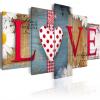 Artgeist Kép - LOVE - handmade