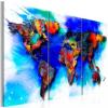 Artgeist Kép - Rainbow map