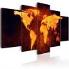 Artgeist Kép - Világtérkép - Hot láva
