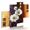 Artgeist Kézzel festett kép - White orchid
