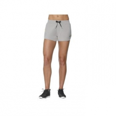 Asics Knit Short női rövidnadrág, Heather Grey, S (141137-0714-S)