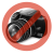 ASM Assmann tápkábel Euro(CEE 7/16)/IEC C7 2,5A/230V 1.8m