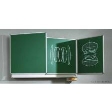 ASS Zöld, oldalszárnyas falitábla 250x120 cm iskolai kiegészítő